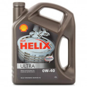 Масло Shell Helix ultra 0W40 SN/CF (4л)