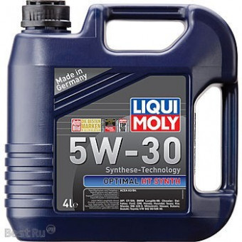 Масло LIQUI-MOLY 5W30 Optimal HT Synth A3/B4 (4л) 2345/39001