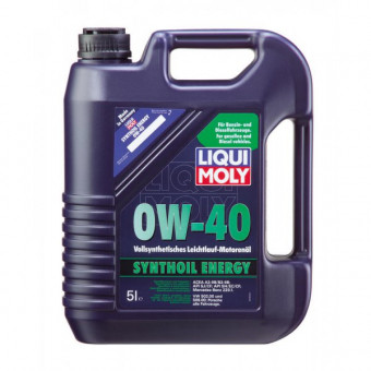 Масло LIQUI-MOLY 0W40  SYNTHOIL Energy SM/CF (5л)