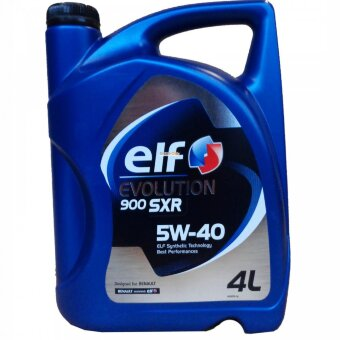 Масло ELF Evolution 900  SXR 5W40 A3/B4-7 SN/CF (4л)