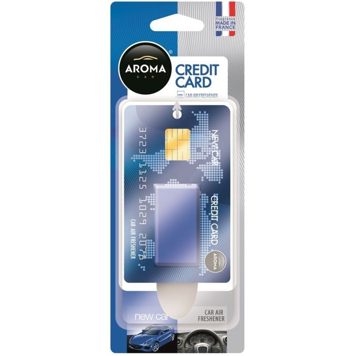"Ароматизатор ""Aroma Car Credit Card"" New Car подвесной"
