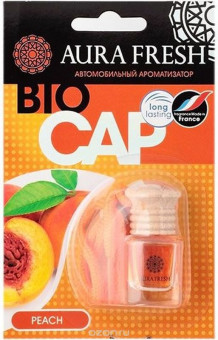 "Ароматизатор ""Aura"" FRESH BIO CAP Peach подвесной"