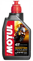 Масло MOTUL Scooter Power 4T 5W40 SL (1л)