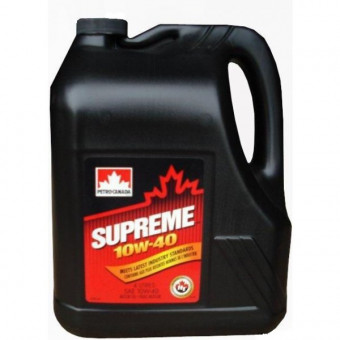Масло Petro-Canada SUPREME 10W40 SN (4л)