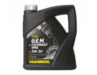 Масло Mannol O.E.M.for Chevrolet Opel 5W30 SM/CF (4л)