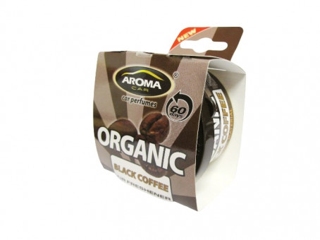 "Ароматизатор ""Aroma Car Organic"" (black coffee) на панель"