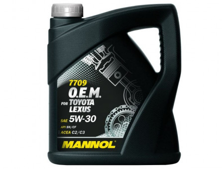Масло Mannol O.E.M.for Toyota Lexus 5W30 SN/CF (4л)