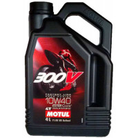 Масло MOTUL 300V 4T FACTORY LINE Road Racing 10W40 (4л)