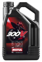 Масло MOTUL 300V 4T FL Road Racing 5W30 (4л)