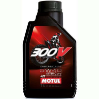 Масло MOTUL 300V 4T FL Road Racing 5W40 (1л)