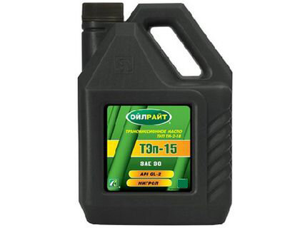 Масло ТЭП-15В 90W GL-2 (10л) OIL RIGHT